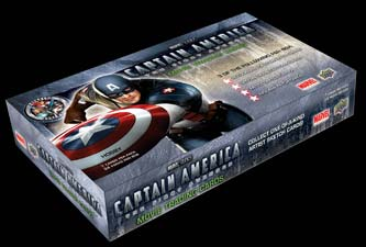 Captain America packaging