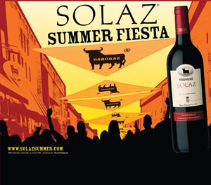 Solaz Wine POP display